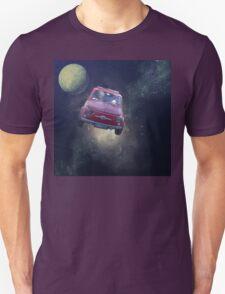 Bella in Space - by Anne Winkler Unisex T-Shirt