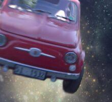 Bella in Space by Anne Winkler Sticker