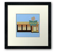 Fargo - The Waffle Hut Framed Print