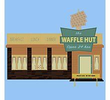 Fargo - The Waffle Hut Photographic Print