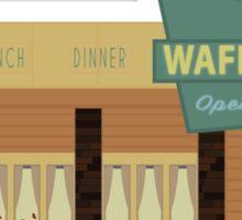 Fargo - The Waffle Hut Sticker