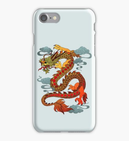 Chinese Dragon - Fire iPhone Case/Skin