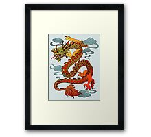 Chinese Dragon - Fire Framed Print