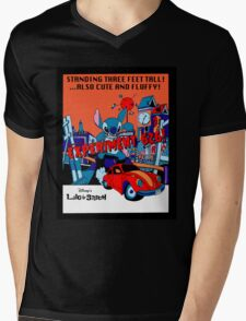 The City's in (STITCHES) Mens V-Neck T-Shirt