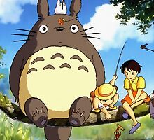 Totoro by laurenbrite