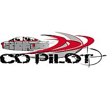 Copilot fast forward Photographic Print