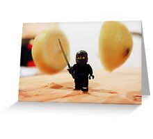 Fruit Ninja Greeting Card