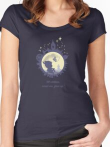 The Boy, The Fairy & The Moon Women's Fitted Scoop T-Shirt