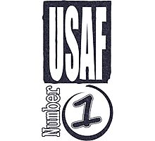 USAF number 1 Photographic Print