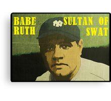 Babe Ruth - New York Yankees Canvas Print
