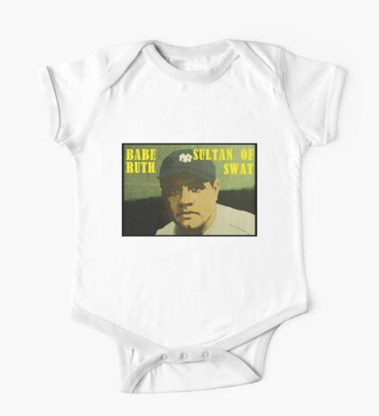 Babe Ruth - New York Yankees One Piece - Short Sleeve