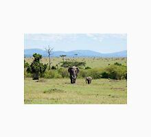 Elephants on the Masai Mara Unisex T-Shirt