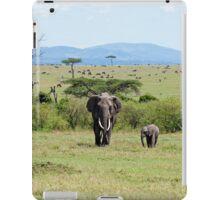 Elephants on the Masai Mara iPad Case/Skin