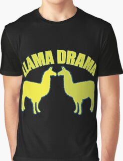 Llama Drama  Graphic T-Shirt