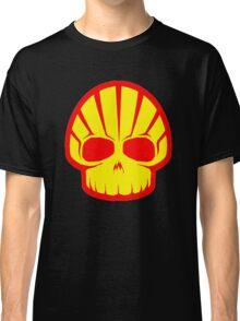 Shell Hell Skul Petroleum Gas Lubricant oil Classic T-Shirt