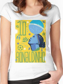 Ronaldinho Women's Fitted Scoop T-Shirt