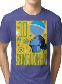 Ronaldinho Tri-blend T-Shirt