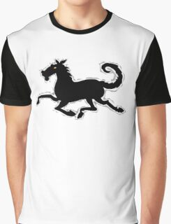 Galloping Horse Tshirt design Graphic T-Shirt