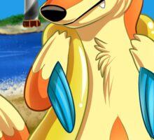 Pokemon Floatzel Sticker