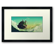 Howl's Moving Castle Framed Print