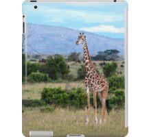 Giraffe on the Masai Mara iPad Case/Skin