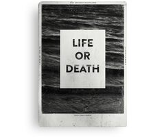 Life or Death Canvas Print