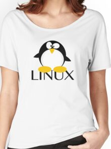 Linux Penguin Women's Relaxed Fit T-Shirt