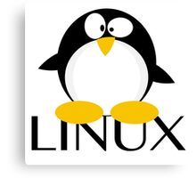 Linux Penguin Canvas Print