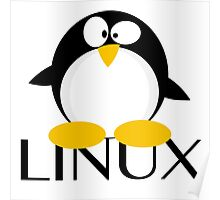 Linux Penguin Poster