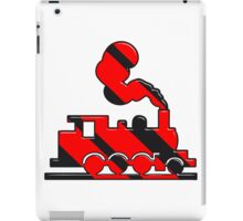 dampflok railroad toy iPad Case/Skin