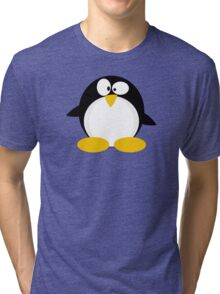 Chubby Penguin Tri-blend T-Shirt