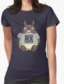 Totoro - Miyazaki Womens Fitted T-Shirt