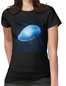 Jellyfish T-Shirt - Amazing Glow Moon Jellies Sea Animal Sticker Womens Fitted T-Shirt