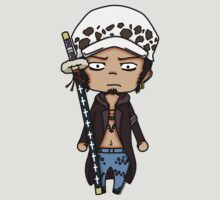 Trafalgar D. Water Law chibi by rainbowcho