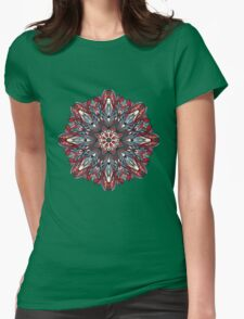 Psychedelic  ornament Womens Fitted T-Shirt