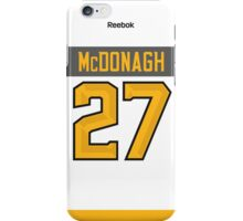 New York Rangers Ryan McDonagh NHL All-Star White Jersey Back Phone Case iPhone Case/Skin