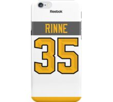 Nashville Predators Pekka Rinne NHL All-Star White Jersey Back Phone Case iPhone Case/Skin