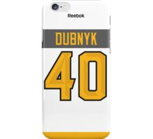 Minnesota Wild Devan Dubnyk NHL All-Star White Jersey Back Phone Case iPhone Case/Skin