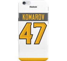 Toronto Maple Leafs Leo Komarov NHL All-Star White Jersey Back Phone Case iPhone Case/Skin