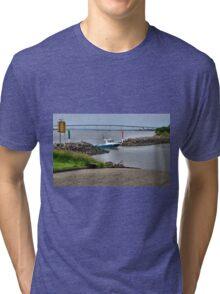 Boat Launch Ramp - Stockton NSW Australia Tri-blend T-Shirt