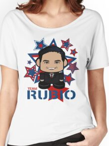 Team Rubio Politico'bot Toy Robot Women's Relaxed Fit T-Shirt