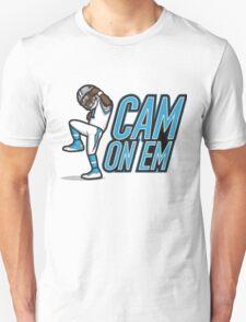 Dab on them cam newton T-Shirt
