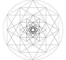 Geometrical Pattern Photographic Print