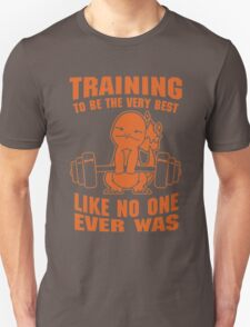 Pokemon Gym Shirt - Training to be Best Like No One Ever Was T-Shirt