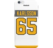 Ottawa Senators Erik Karlsson NHL All-Star White Jersey Back Phone Case iPhone Case/Skin