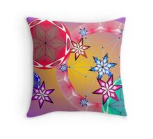 Fruit like cosmos. Throw Pillow