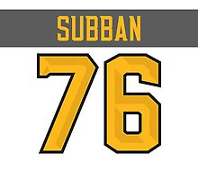 Montreal Canadiens P. K. Subban NHL All-Star White Jersey Back Phone Case by Russ Jericho