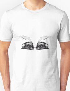 dampflok railroad locomotives romance T-Shirt