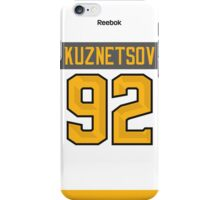 Washington Capitals Evgeny Kuznetsov NHL All-Star White Jersey Back Phone Case iPhone Case/Skin