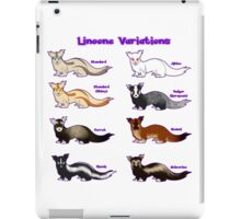 Pokemon Linoone Variations iPad Case/Skin